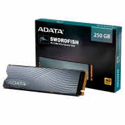 SSD A-Data ASWORDFISH 250GB NVMe M.2 PCIe Com Dissipador