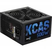 Fonte AEROCOOL KCAS 500W 80 Plus Bronze PFC Ativo PN # 59765