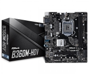 .PL Mae ASRock B360M-HDV (1151/DDR4/HDMI/DVI-D/VGA/M.2/mATX) 8ª Geração
