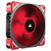 Ventilador Corsair ML120 PRO LED Premium Magnetic Lev. Red
