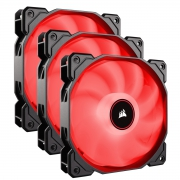 Ventilador Corsair Air Series AF120 Red 3 Packs