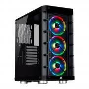 Gabinete Corsair ICUE 465X Mid-Tower RGB Black