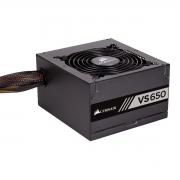 Fonte Corsair 650W VS BI AUTO ATX12V/ PFC/ 2.31 S/CABO PN # CP-9020172-WW