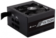 Fonte Corsair  750W TX M 80Plus Gold ATX12V V2.4 PFC S/CABO PN # CP-9020131-WW