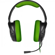 Headset Corsair HS35 Gaming Green PC, PS4, XBOX One, Switch